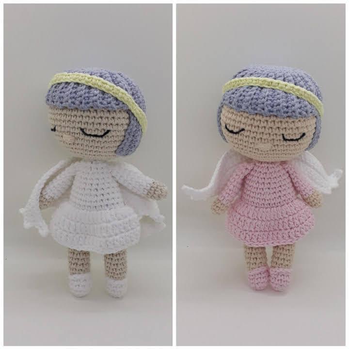 Angelito en crochet