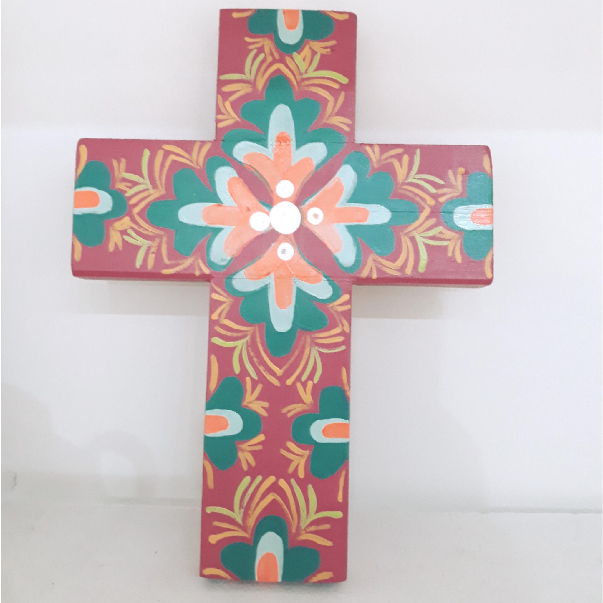 Cruz de Madera Artesanal
