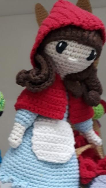 Caperucita Roja en Crochet