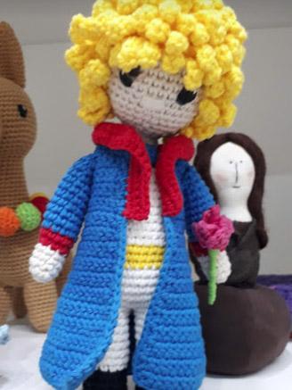 Principito en Crochet