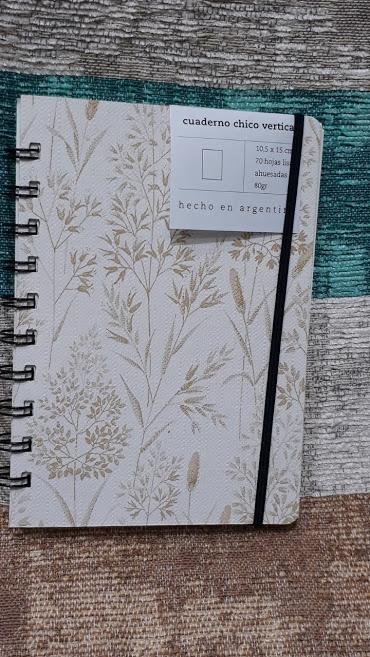 Cuaderno Chico Vertical