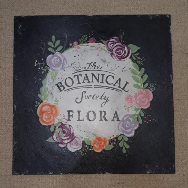 Cuadro The Botanical Society Flora