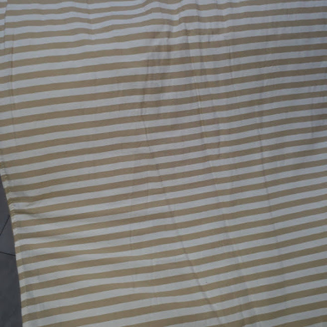 Pie de cama Irene rayas beige