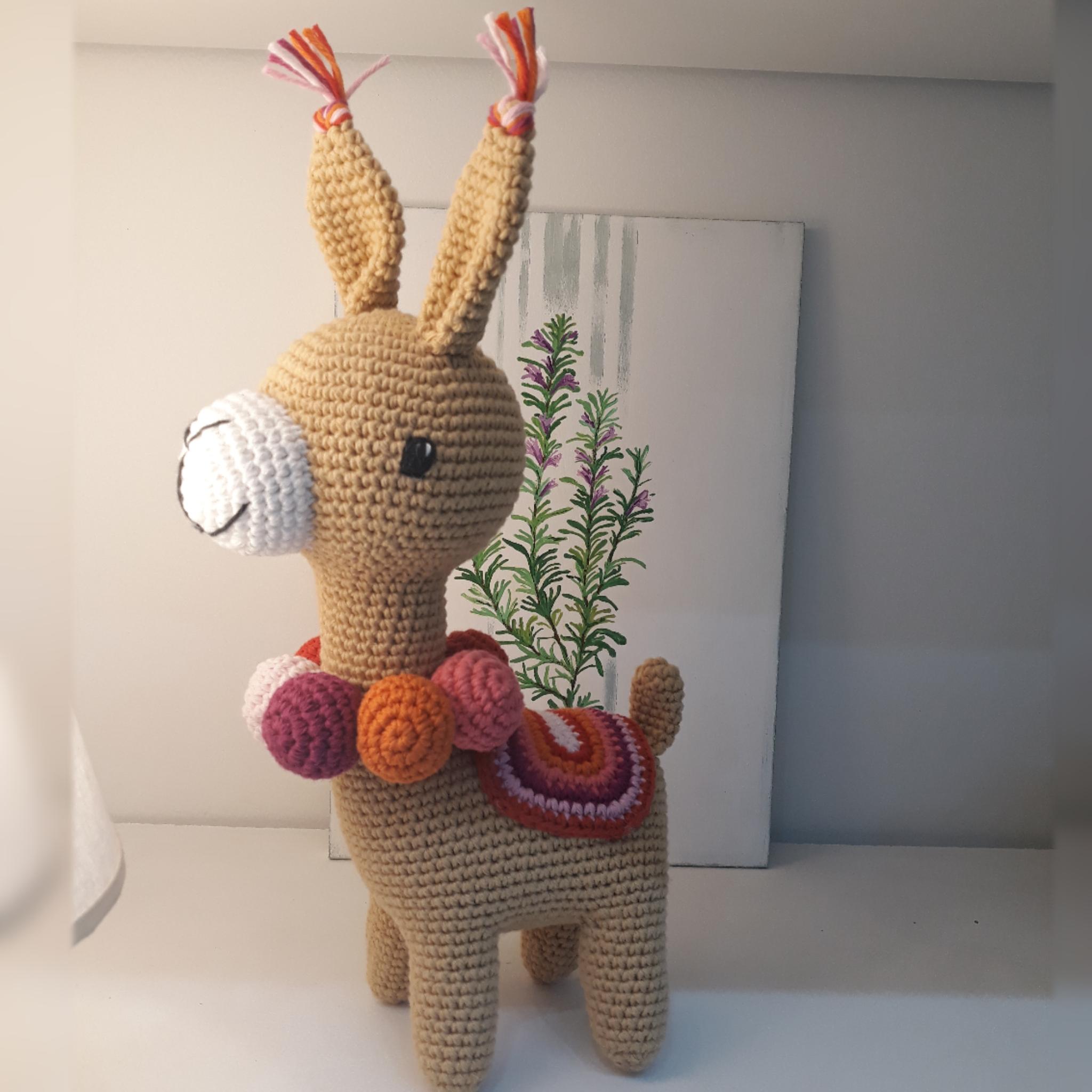 Alpaca en Crochet